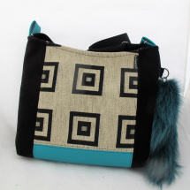 SQUARE BAG * tyrkys * PARROT®