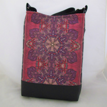 MANDALA BAG * VIOLET * BLACK no.03  * PARROT®