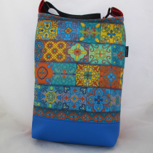 MANDALA BAG * LINE BLUE  no.05  * PARROT®