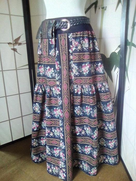 a9b57f06754 Dlouhá sukně s taštičkou – Potvor - pomáhat tvořit