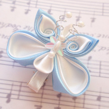 sponka Butterfly blue